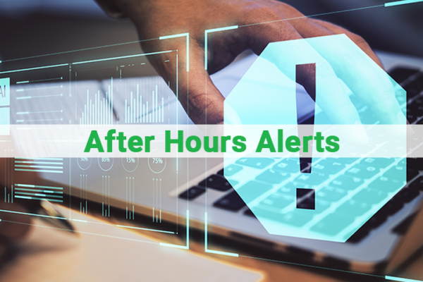After Hours Alerts