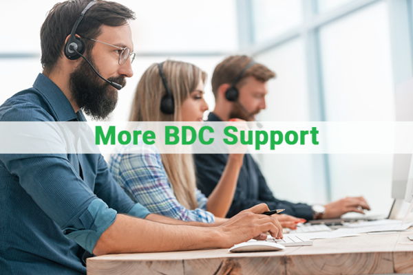 More BDC Support
